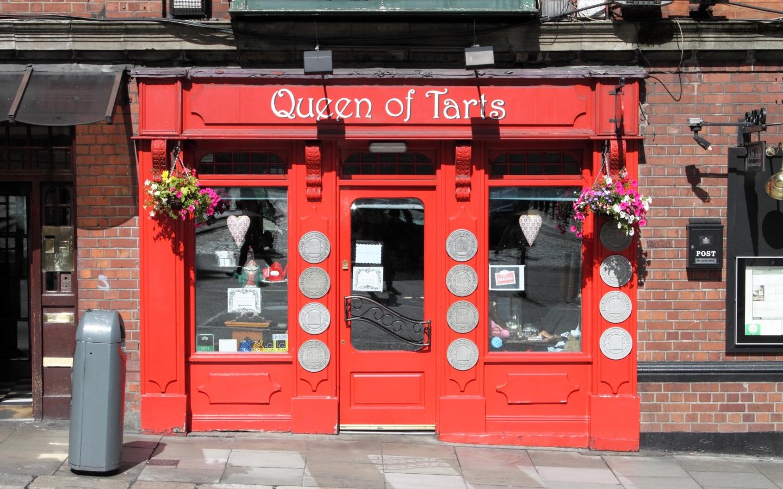 In dem Café Queen of Tarts in Dublin gibt es leckeren Kuchen, Scones und ein sehr gutes Frühstück.