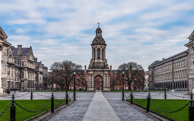 Das Trinity College in der irischen Hauptstadt Dublin.
