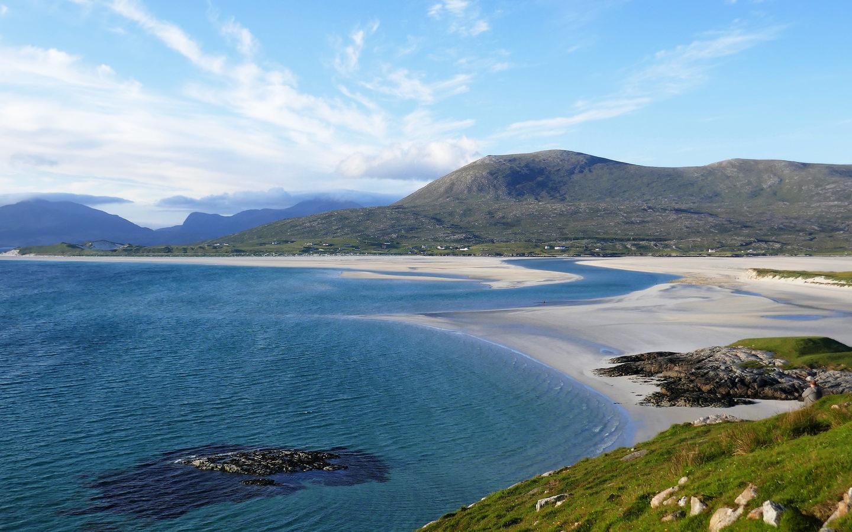 Die Nummer drei der schönsten Strände Europas 2020 ist der schottische Strand Luskentyre.