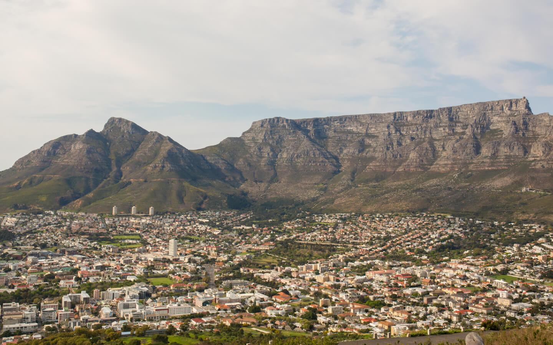 Das Arbeiterviertel Woodstock in Kapstadt ist auch Teil dieses Reiseberichts aus Südafrika.