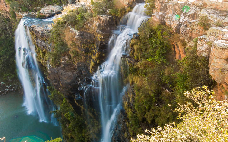 In diesem Reisebericht aus Südafrika wird auch über die wunderschönen Wasserfällen des Landes berichtet.