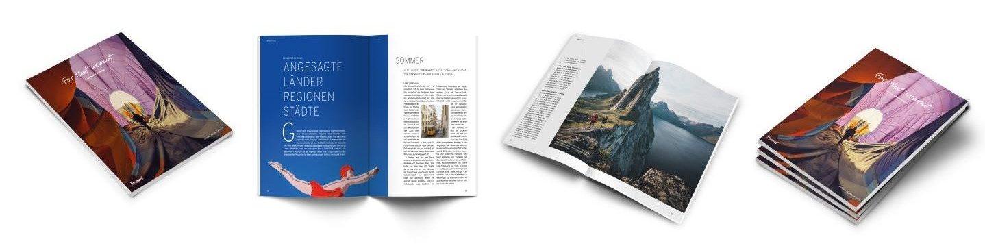 Das Printmagazin des Reiseveranstalters itravel.