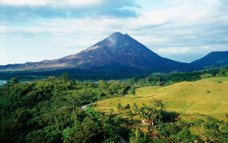 Der Vulkan Arenal ist der aktivste Vulkan Costa Ricas.