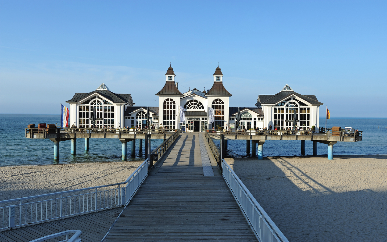 Das Ostseebad Sellin auf der Insel Rügen eignet sich hervorragend für einen Urlaub an der Ostsee.