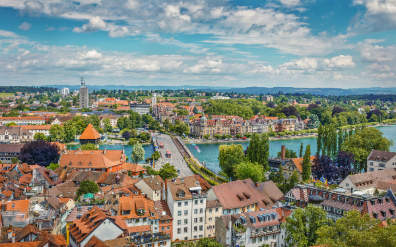 Die Stadt Konstanz ist ein beliebtes Urlaubsziel für einen Bodensee-Urlaub.