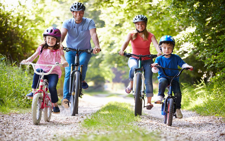 Eine Radtour ist eine beliebte Aktivität während eines Bodensee-Urlaubs.