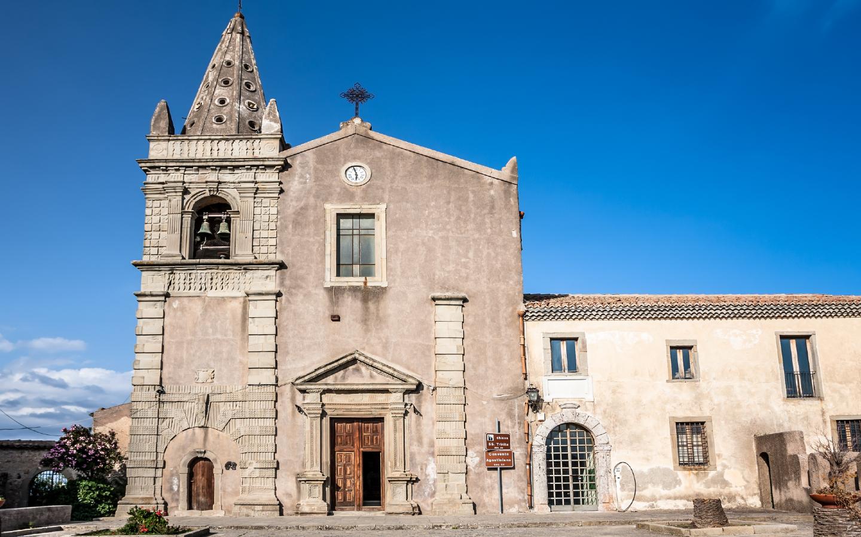 """Die Kirche von Savoca ist ein wichtiger Drehort aus dem Film """"Der Pate""""."""