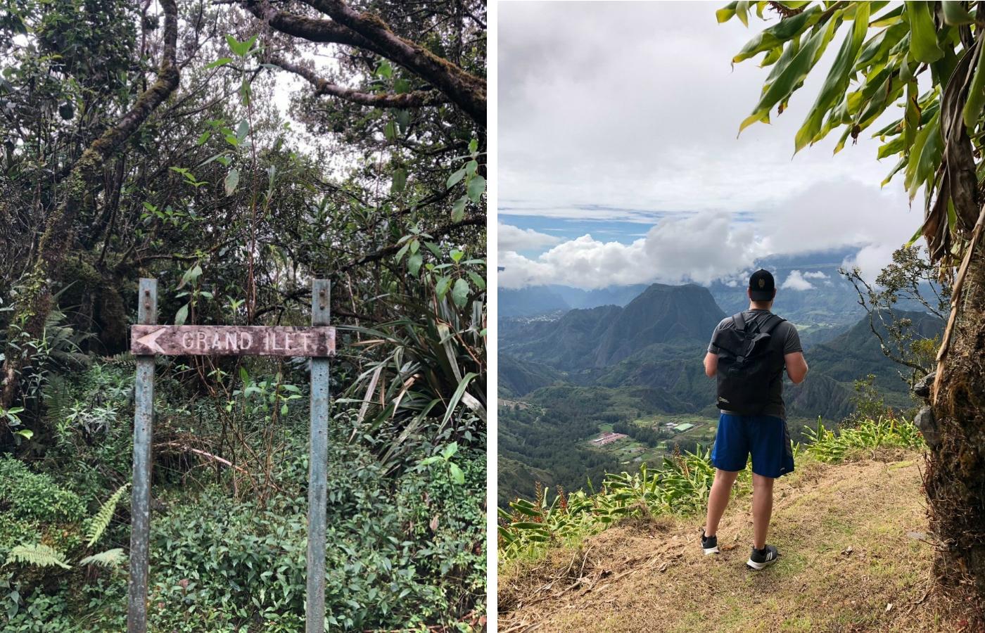 Die im La Réunion Expertengespräch erwähnte bekannte Aussichtsplattform Col des Bœuf.