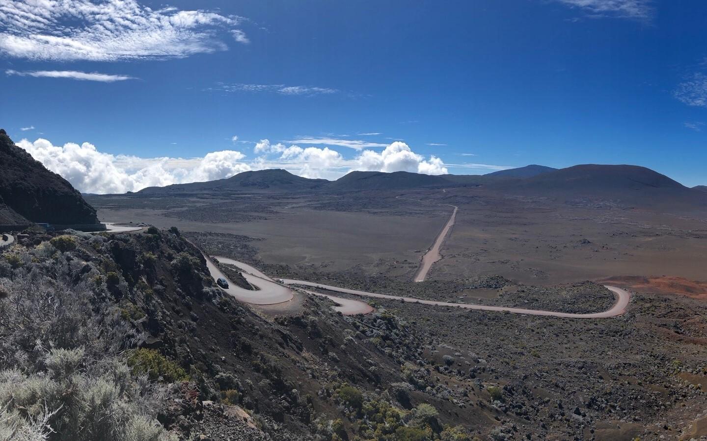 Die faszinierende Mondlandschaft auf der Insel La Réunion.