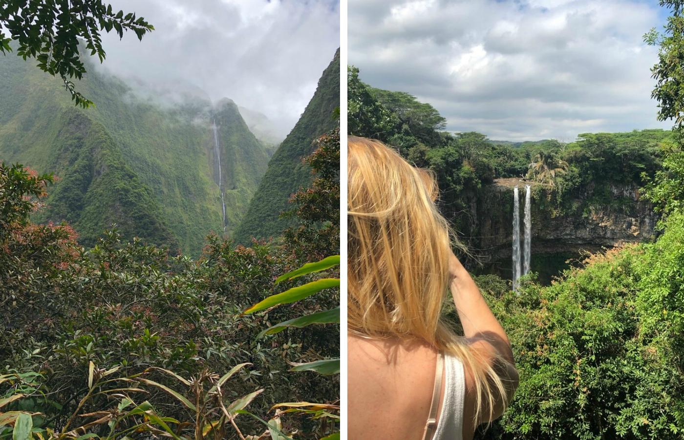 Ein Talkessel auf La Réunion mit seiner typischen Flora und Fauna im Vergleich mit dem ähnlichen Black River Gorges Nationalpark auf der Insel Mauritius.