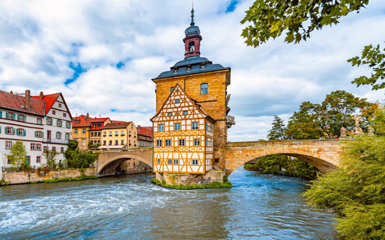 Die bayerische Stadt Bamberg ist ein schönes Ziel für einen Kurzurlaub in Deutschland.