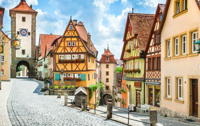 Die schöne Stadt Rothenburg ob der Tauber eignet sich optimal für einen Kurzurlaub in Deutschland.