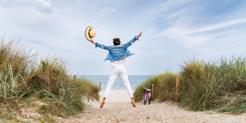 Zu Reisen ist wichtig für einen gesunden Körper und unseren Geist.