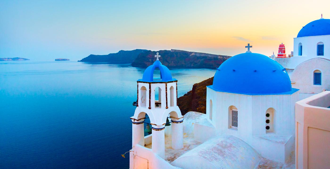 Santorini gehört zu den schönste griechischen Inseln.