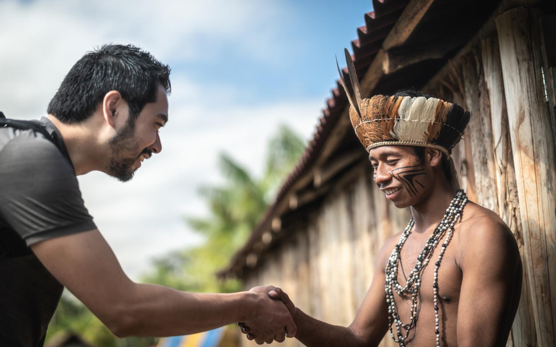 Nachhaltiger Tourismus sorgt für ein besseres Kennenlernen der Kulturen.