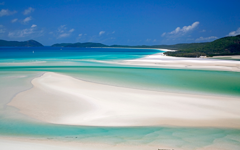 Der Whitehaven Beach in Australien ist der schönste Strand weltweit.