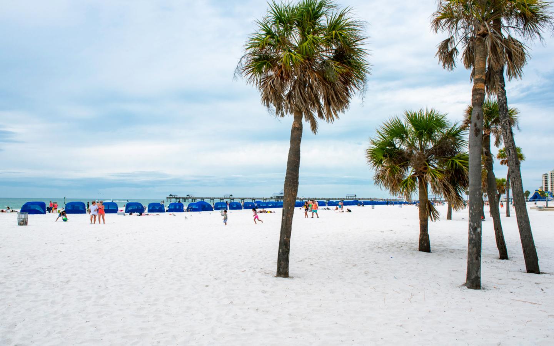 Der Saint Pete Beach im US-Bundesstaat Florida.