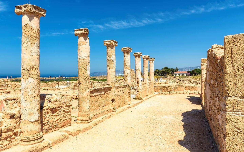 Der Archäologische Park Pafos gehört zu den Sehenswürdigkeiten in Zypern.