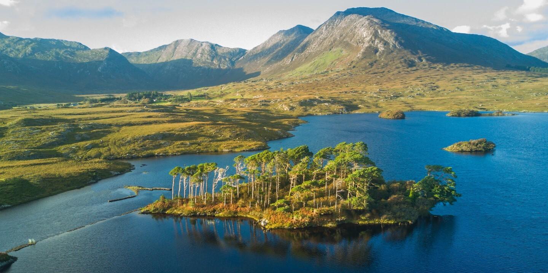 Die Seelandschaften gehören zu den schönsten Sehenswürdigkeiten in Irland.
