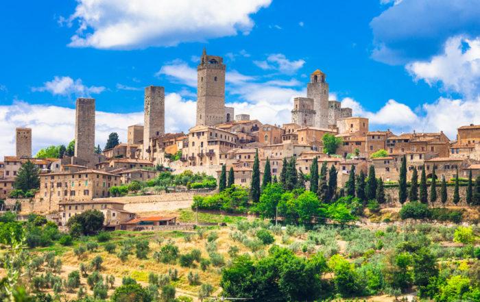 Die Stadt San Gimignano gehört zu den Top 10 Sehenswürdigkeiten in der Toskana.