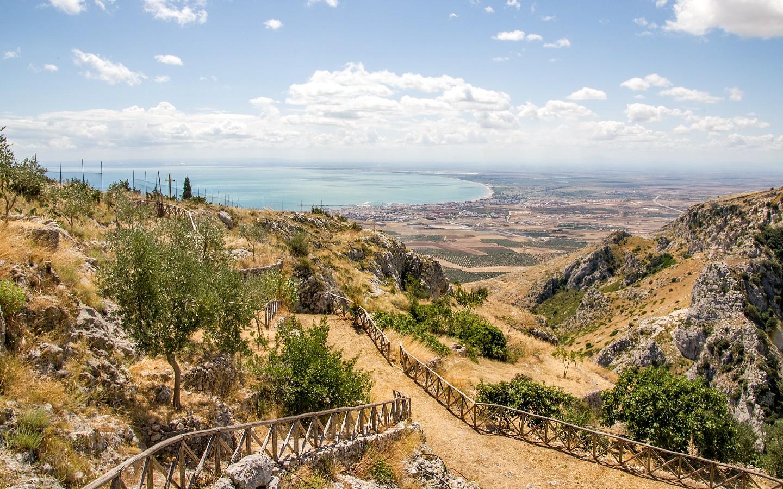 Der Gargano Nationalpark in Apulien ist der größte Nationalpark Italiens.